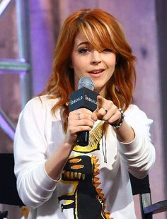 NEW YORK, NY - JUNE 16: Musician Lindsey Stirling speaks at AOL BUILD Speaker Series: Lindsey Stirling at AOL Studios In New York on June 16, 2015 in New York City. (Photo by Monica Schipper/FilmMagic) No°6