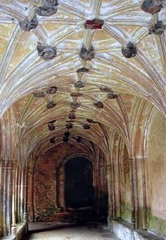 Lacock Abbey - Harry Potter Film Location; Where they filmed many of the classroom scenes