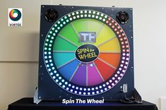 Digital Spin The Wheel is a modern take on our classic game show, Wheel of Fortune. Press the botton to spin the light on the wheel around and see what prize you win. Office Christmas Party, Christmas Party Themes, Retro Arcade Games, Arcade Game Machines, Family Fun Day, Wheel Of Fortune, Indoor Games, Party Entertainment, Best Part Of Me