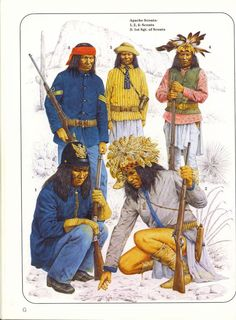 of Scouts. Native American Models, Native American Warrior, Native American History, American Indian Wars, American Indians, Apache Indian, Indian Art, Native Drawings, Scouts