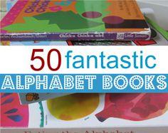 50 Fantastic Alphabet Books