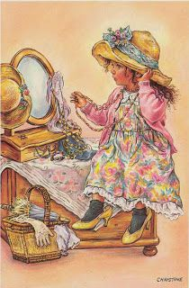 quenalbertini: Lovely little girl by Christine Haworth Sarah Kay, Baby Clip Art, Illustration Art, Illustrations, Holly Hobbie, Gif Animé, Freelance Illustrator, Cute Images, Up Girl