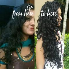 Wavy hair routine – How is it different from a curly hair routine Welliges Haar – Wie unterscheidet es. Dry Curly Hair, Curly Hair Routine, Curly Hair Tips, Curly Hair Styles, Natural Hair Styles, Wavy Hair Care, Frizzy Curly Hair Products, Style Curly Hair, Natural Curly Hair