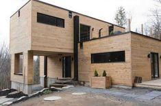 Contenedores de metal convertidos en una increíble casa