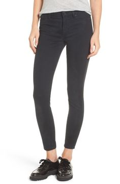 Hudson Nico Ankle Skinny Pants In Dark Beetle Super Skinny Jeans, Skinny Pants, Hudson Jeans, Jeans Style, Black Jeans, Ankle, Beetle, Clothes, Collection