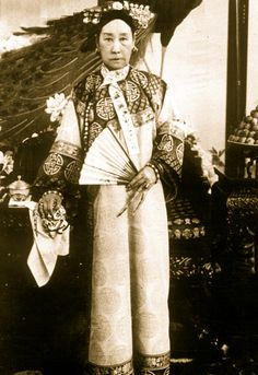 Empress Dowager Cixi 慈禧太后. A good old-fashioned tyrant. The story goes that the luckless attendant who brushed Cixi's hair received a lash for every hair she dislodged. Cixi was quite good at murdering rivals too.