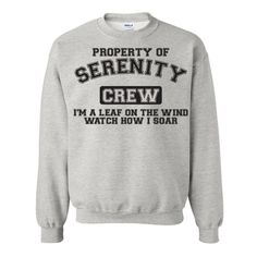 Property of Serenity Hooded Pull Over Sweat Shirt Firefly Im a Leaf on... ($20) ❤ liked on Polyvore featuring tops, hoodies, sweatshirts, green, t-shirts, women's clothing, sweat shirts, hooded top, shirts & tops and green shirt
