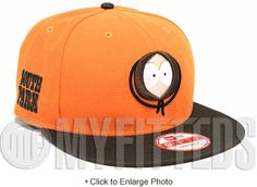 1809b324c67 Kenny McCormick Orangeade Brown Tan White Black South Park Cabesa Punch 2 New  Era Snapback New