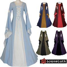Mittelalter Kleid Gewand Johanna Maßanfertigung Farbwahl Mittelalterkleid Kostüm in Kleidung & Accessoires, Hochzeit & Besondere Anlässe, Brautkleider   eBay!
