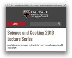 Kulinarische Videos im Web: Havard – Science and Cooking
