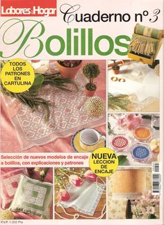 Archivo de álbumes Bobbin Lace Patterns, Crochet Patterns, Parchment Craft, Crochet Magazine, Crochet Books, Needle Lace, Lace Making, Crochet Chart, Diy Embroidery