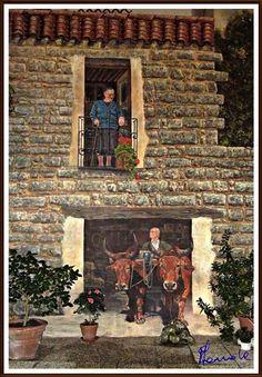 Murales di Sardegna: Olzai