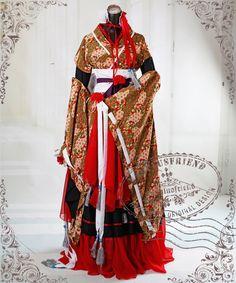 【楽天市場】†FanPlusFriend†ゴシックロリータHeian Noble Literator, Wa Lolita Fete Hime Kimono 7pcs~6サイズ~※お取寄せ・オーダーメイド商品(選択肢以外のサイズはご相談ください):MARS&OZZY