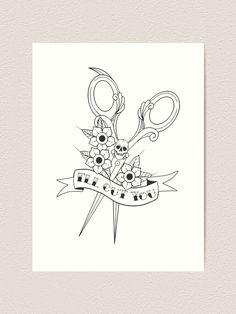 Goth Tattoo, 1 Tattoo, Tattoo Drawings, Body Art Tattoos, Sleeve Tattoos, Cosmos Tattoo, Cosmetology Tattoos, Hairdresser Tattoos, Hairstylist Tattoos