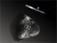 G.A.B.I.E.: Rosetta mide el vapor de agua expulsado por el com...