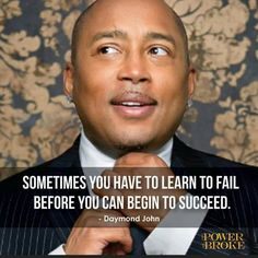 Here are 10 powerful lessons on the I pulled out from Daymond John's new book, The Power of Broke. Everyone needs to learn these lessons today Books To Buy, New Books, John Power, Famous Entrepreneurs, Monday Motivation Quotes, Broken Quotes, Michael J, Yesterday And Today, Worlds Of Fun