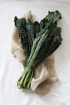 cavolo nero -- aka kale or dinosaur kale. Sauté with olive oil and seas salt. Food Photography Styling, Food Styling, Life Photography, Healthy Soup Recipes, Raw Food Recipes, Kale Vegetable, Cooking Ingredients, Good Enough To Eat, Fruit And Veg