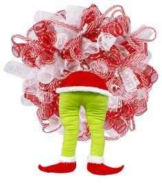 Christmas monster bottom wreath enhancement. #Christmas #monster #wreath #enhancement #craigbachman
