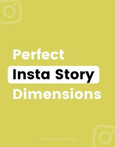 You might have noticed that Instagram is very strict about the size of Instagram Stories. Don't get cropped or stretched by Instagram! Here are the exact Instagram Story dimensions, sizes and ratios for your photos, images and videos to make sure you post the best Story quality! #instagramtips #instagramstrategy #instagrammarketing #socialmedia #socialmediatips Instagram Bio, Instagram Story, Instagram Marketing Tips, Gain Followers, Business Look, Insta Story, Photography Tutorials, Social Media Tips, Online Business