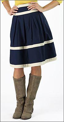 Cotton+A-line+Striped+Skirt+[S1321]+-+$39.99+:+Mikarose+Fashion,+Reinventing+Modest+Fashion