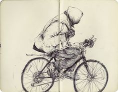 More sketches and finished drawings by artist Pat Perry, originally from Michigan, now based in Detroit. Pat Perry, Art Alevel, Line Sketch, Drawing Sketches, Drawings, Tinta China, Artist Sketchbook, Sketchbook Inspiration, Urban Sketching