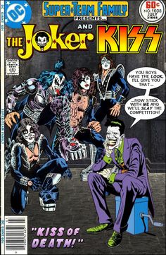 When I was a kid I loved the band Kiss because they we kind of like superheroes with their whole look and personas. May favorite was Ace ...