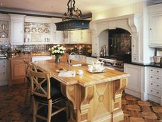 Bigger Is Better - Dreamy Kitchen Cabinets and Countertops on HGTV