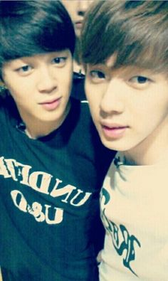 BTS Jimin and Jin