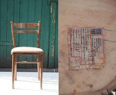 Krzesło typ 8335, lata 80. Zakłady Przemysłu Meblarskiego Im. Gwardii Ludowej, Radomsko.