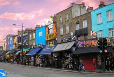 Today London most visited shopping streets are not necessarily the high end streets of the West End. In fact a Top 3 tourist attraction in the UK capital is its biggest market area, the Camden Market!