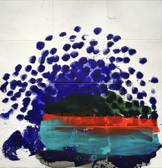 When Only The Best Will Do, 2012, by Howard Hodgkin