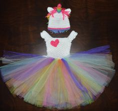 Hey, I found this really awesome Etsy listing at https://www.etsy.com/listing/160117277/crochet-valentines-rainbow-unicorn-tulle