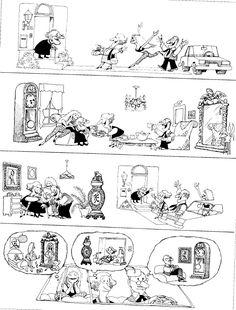 (How Bad People Are! Picture Story, Humor Grafico, Fun Comics, Quito, Illustrators, Nostalgia, Funny Pictures, Hilarious, Cartoon