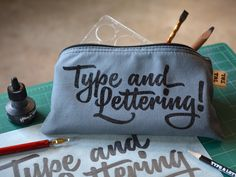 The handy Type and Lettering case is ideal for all your organizational needs