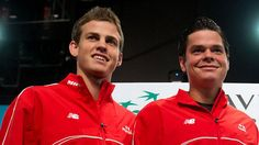 Milos Raonic, Pospisil in action to open Davis Cup quarter-final - http://f3v3r.com/2013/04/04/milos-raonic-pospisil-in-action-to-open-davis-cup-quarter-final/