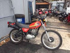 Used 1979 Honda XL 250 Motorcycles For Sale in Georgia,GA. The price is negotiable, make me an offer! :) I bought this 79 Xl250s in June. I wanted to give the dual sport thing a go and ride in some dirt. I have taken this bike in the woods only once... not through any flaw in the bike, I'm just not that into it. I also recently got engaged and I would like a bike that can travel long distance on. A bigger bike or cruiser...Anyways, this color scheme is a rare find, it was only made for a few…