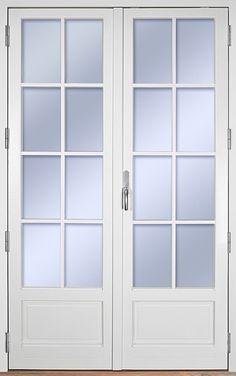 Ekstrands utåtgående parfönsterdörr Sverige104, Tillval: Isolerad fyllning, Spröjs SP2:1 #Ekstrands #fönsterdörr #altandörr #fönster #dörr #isoleradfyllning #spröjs Patio Doors, Diy And Crafts, Master Bedroom, Furniture Design, Windows, Home Decor, Houses, Interiors, Cooking