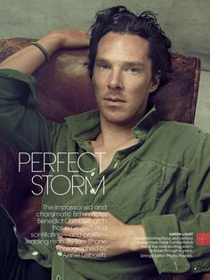 """Бенедикт Камбербэтч (Benedict Cumberbatch) в преддверии выхода новой картины """"Пятая власть"""" с его участием, появился в фотосессии Энни Лейбовиц (Annie Leibovitz)"""