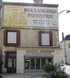 Boulangerie in Bar-s-Aube, France