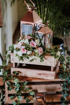 Need to get wooden crates for display by welcome and unplugged sign