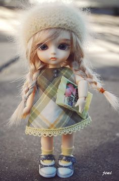 Adorable little thing!! #BJD ♡