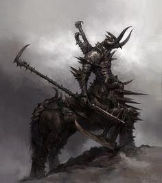 ArtStation - daghdac - raider , Troll Juncha