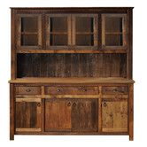 Found it at Wayfair - Barnwood China Cabinet