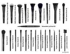 ELF Brushes i just bought the ultimate blending brush yesterday at walmart and OMG!! my foundation looks airbrushed most def getting more!!