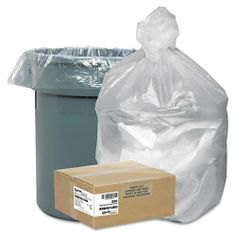 Earthsense® Commercial - High-Density Recycled Can Liners, 31-33 gal, 14 mic, 33 x 40, Natural, 250/Ctn - Sold As 1 Carton - Made with high-density resins for puncture resistant sidewalls. by Earthsense Commercial Products. $66.99. Earthsense® Commercial - High-Density Recycled Can Liners, 31-33 gal, 14 mic, 33 x 40, Natural, 250/CtnMade with high-density resins for puncture-resistant sidewalls. Source reduced; manufactured using less plastic without affecting performan...