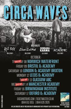 Birmingham Institute 16/10/15 Rat Boy, Brixton, Leeds, Glasgow, Birmingham, Waves, Tours, London, Movie Posters