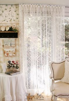 $91.23 lace curtains for home decor from zzkko.com