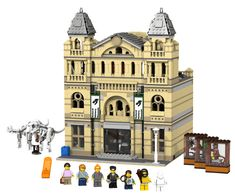 ~ Lego MOCs City ~ The Brickverse: Natural History Museum and other projects get to Ideas review