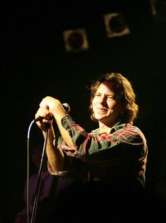 """Eddie Vedder at the """"Rock School"""" party in Seattle May 2005 Video of Ed performing """"I Wanna Be Sedated"""" Mookie Blaylock, Pearl Jam Posters, Pear Jam, Pearl Jam Eddie Vedder, My Church, God Loves Me, Independent Films, To My Future Husband, Beautiful Day"""
