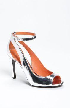 Sleek + Shine = Stunning #Nordstrom #Shoes #Metallic
